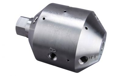 nozzle holder drainspeed 30, 12/4, 3000 bar, 250kW, self drive, without nozzles style 9
