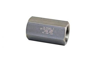 sleeve 1000 bar, M24 inner thread x M24 inner thread