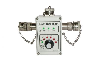 checking device combicheck for control cable function testing