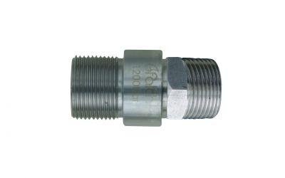 double nipple 500bar, M22 outer thread x M24 outer thread