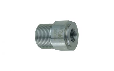 "reduction 1500 bar, 1/4"" inner thread x M24 outer thread"