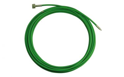 pipe cleaning hose drainstop 10, 1000 bar, 60 °C, M24 inner thread x M7 outer thread, DN