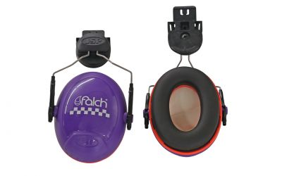 ear protection for safety helmet combination, 31 db (EN352-1)