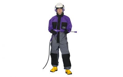 protective suit tex 3, size L, incl. kneepad (corresponds to size 50/52)