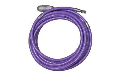 """high pressure hose nonstop 30 ph, 3000 bar, 70 °C, DN8, 9/16""""unf-lh outer thread x"""