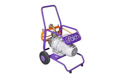 P450 water pump, 5 bar, max 50 m height, max 450 l/min, 400 V, 50 Hz