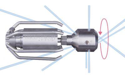 drainspeed 15, 1500 bar, max. 130 l/min, M24 x 1.5 ag, 4x135°/3x90°/0/3x45°x-jet,