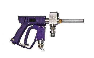 high pressure dump gun 30, 3000bar, 70 °C M26 inner thread x M26 inner thread, safety