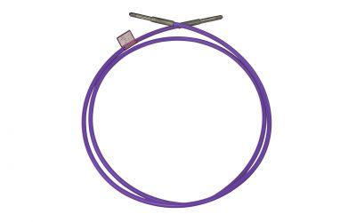 "high pressure hose nonstop 30, 3000 bar, 70 °C, DN5, 9/16""unf-lh outer thread x 9/16""unf-lh"