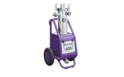 filter unit 600, 10 bar, 40° C, 600 l/min incl. water pre-pressure indicator