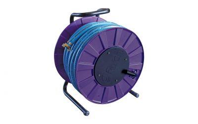 "hose reel incl. 25m 3/4"" water hose"
