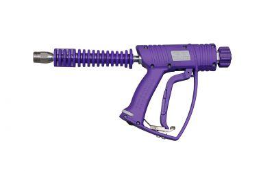 high pressure gun 5, 500 bar, 155 °C, M22 outer thread x M22 inner thread, safety plus,