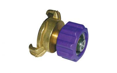 adaptor for reduction 20 bar, M22 inner thread x geka