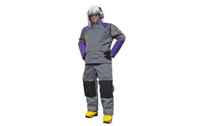 protection jacket tex 30 protection level 20/30, CE 89/686/EEC size 2XL/3XL