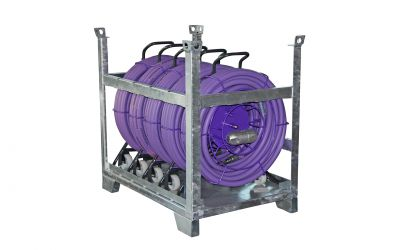 "high pressure hose nonstop 25 ph, 2500 bar, 70 °C, DN8, 9/16""unf-lh ot x 9/16""unf-lh"