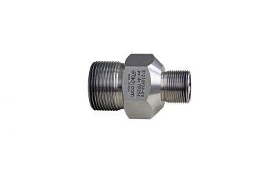 hose connector 1500bar, M24 outer thread x M36 outer thread