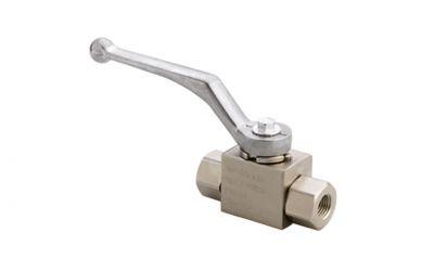 ball valve 500 bar, 60 °C, 1/4 inner thread, DN 6