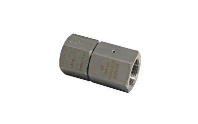sleeve 1500 bar, M24 inner thread x M24 inner thread