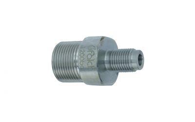 "double nipple 1500 bar M24 outer thread x 1/4"" outer thread"