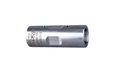 "sleeve 3000 bar, 9/16""unf-lh inner thread x 9/16""unf-lh inner thread Ø18,5mm"