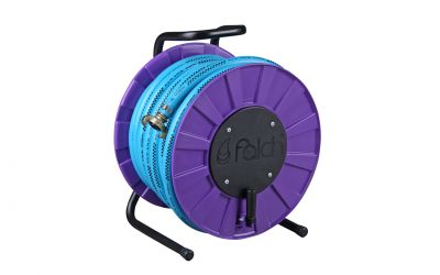 hose reel incl. compressed air hose, 10 bar, DN25, 25 m, incl. coupling for a-drive