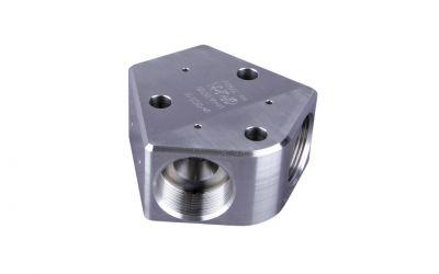 distributor 3000 bar, M36 inner thread x M36 inner thread x M36 inner thread, DN12