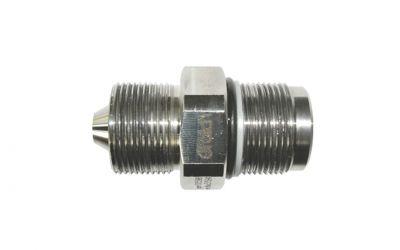 double nipple quicklock 3000 bar M26 outer thread x quicklock for machine/ gun