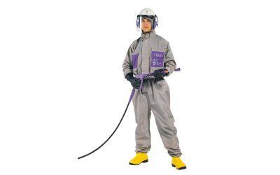 protective suit tex 1,  size L (corresponds to size 50/52)
