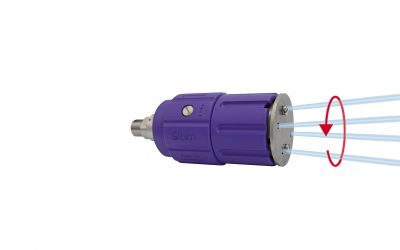 "rotor nozzle pointspeed regulation 5, 4/2, 500 bar, 90 °C, 1/4"" inner thread, 40kW,"