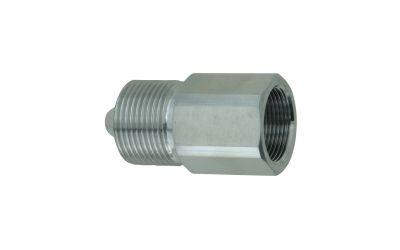 reduction 3000 bar, M26 inner thread x M30 outer thread