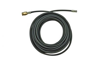 """pipe cleaning hose drainstop 2, 200 bar, 60 °C, M22 outer thread x 1/8"""" outer thread, DN 5,"""