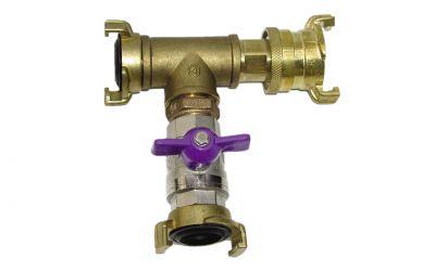 distributor geka/2xgeka, with ball valve