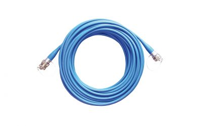 control cable 7-pin 1m with plug and socket