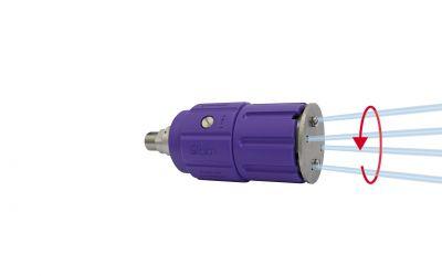 "rotor nozzle pointspeed regulation 5, 4/2, 500 bar, 90 °C, 1/4"" inner thread, 15kW, 500"