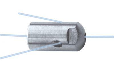 "pipe cleaning nozzle drainclean 12, 1200 bar, 1/4"" inner thread 3x135°/0/0/1x0° Ø17mm, w.o."