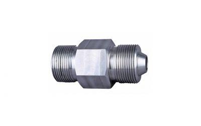 double nipple 1500 bar, M36 outer thread x M36 outer thread dko