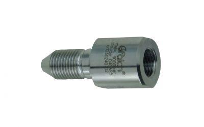 reduction 3000 bar, M14-lh inner thread x 9/16''unf-lh outer thread