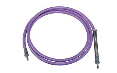 """high pressure hose nonstop 25 ph, 2500 bar, 70 °C, DN5, 9/16""""unf-lh outer thread x"""
