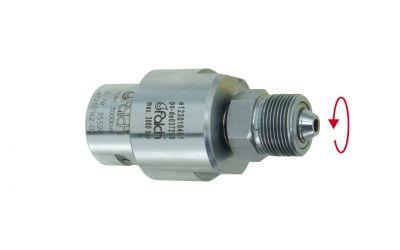 swivel 3000 bar, 60 °C, M26 inner thread 50 l/min, 0° x M26 outer thread