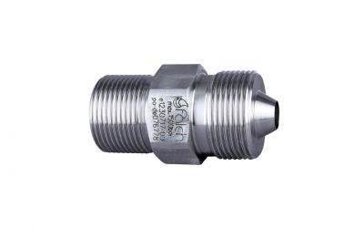 double nipple 1500bar, M26 outer thread x M24 outer thread dko